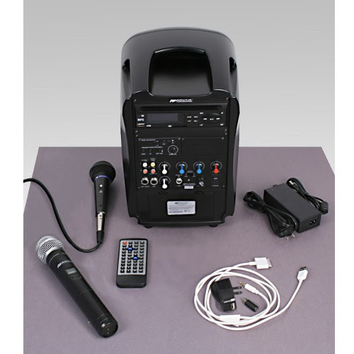 Iphone Ipad Portable Pa And Sound System Amplivox