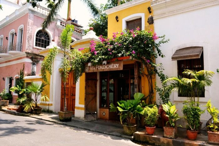 La Maison Rose for a romantic sojourn in Pondicherry