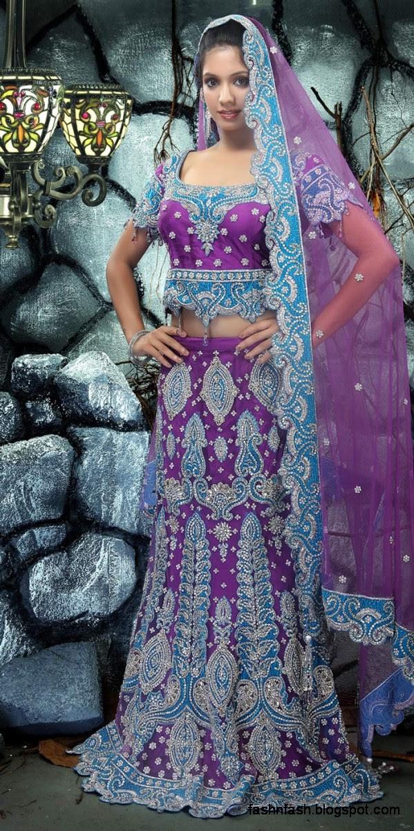 Bridal-Brides-Wedding-Dress-Beautiful-Indian-Bridal-Valima-Lehanga-Choli-Collection-8