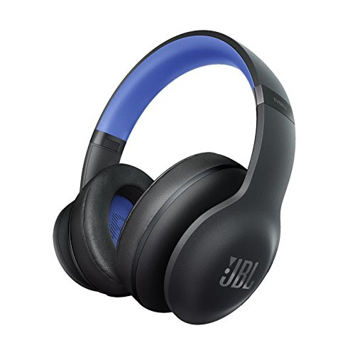 JBL【国内正規品】EVEREST ELITE 700 ワイヤレスヘッドホン Bluetooth ノイズキャンセリング 密閉ダイナミック型オーバーイヤー ブラック/ブルー V700NXTBLUGP