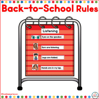 school rules, morning routines, classroom procedures