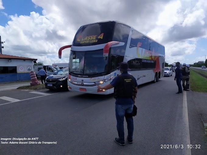 CONQUISTA | ANTT apreende seis veículos fazendo transporte não autorizado