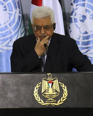 El presidente palestino, Mahmud Abás. -