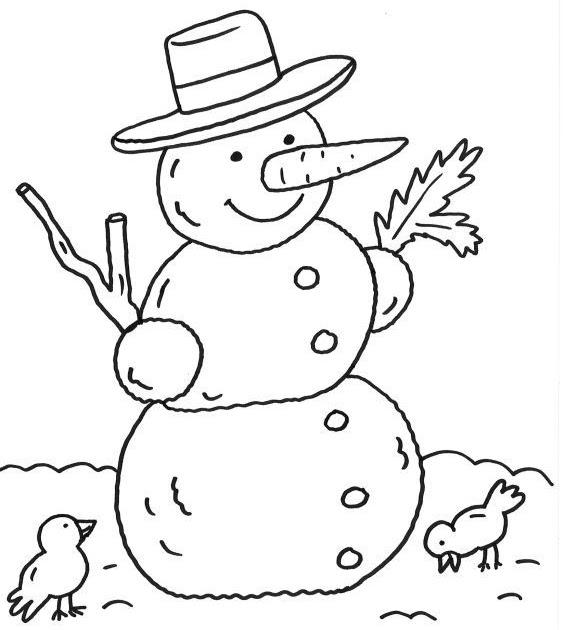 kostenlose ausmalbilder zum ausdrucken winter  malvorlagen