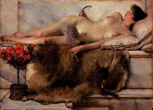In the Tepidarium - Sir Lawrence Alma-Tadema