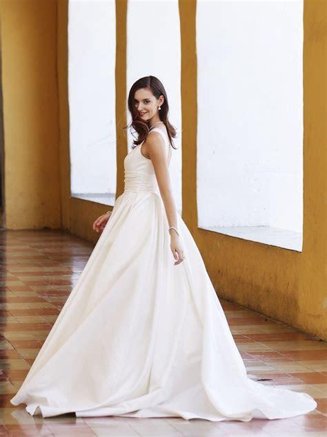 Ball gown beauty   Satin Cummerbund Tank Ball Gown Wedding