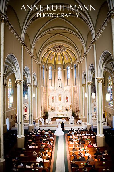 St. Joseph's Parish Wedding, Joliet, IL