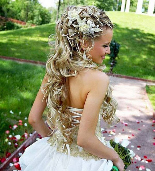 Idee acconciature sposa 2016 Glamour it - acconciature capelli lunghi sposa 2016