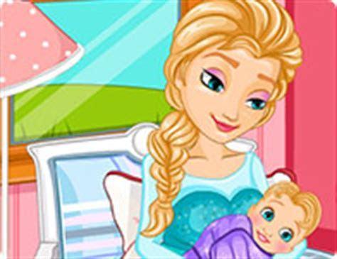 Frozen Elsa Gives Birth   Girl Games