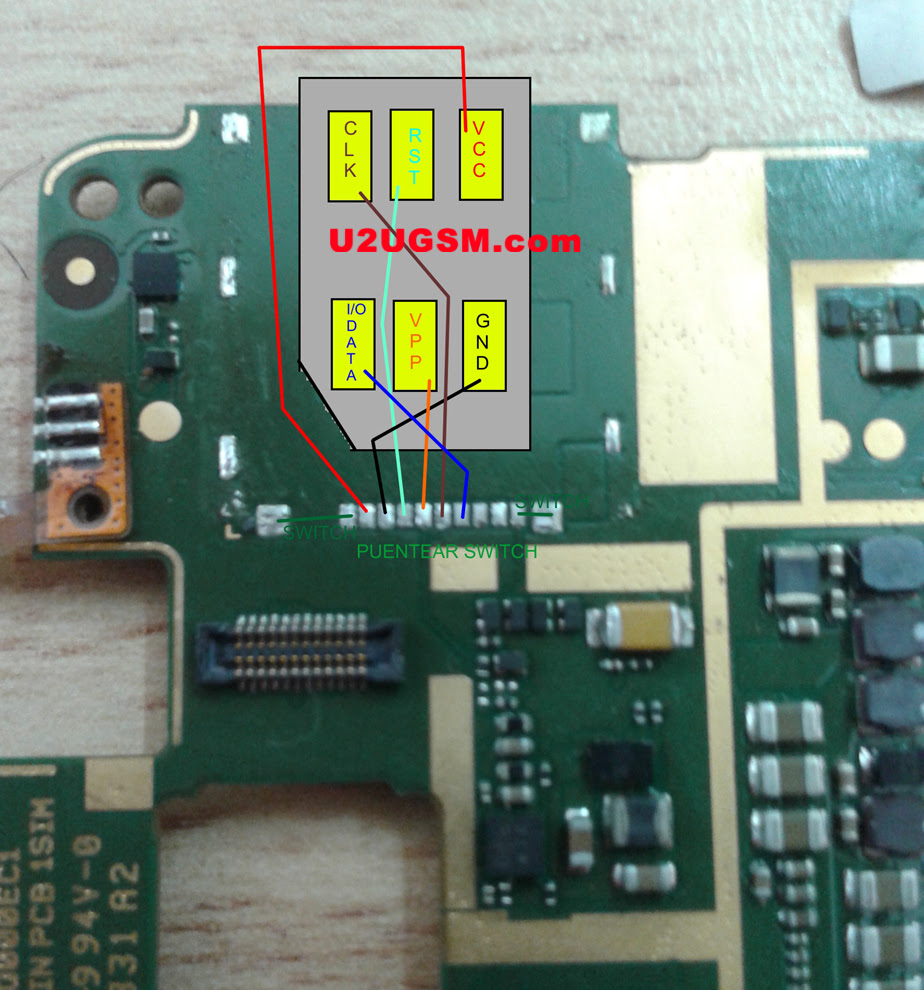 Alcatel One Touch Idol 6030 Insert Sim Card Problem Solution Jumper Ways
