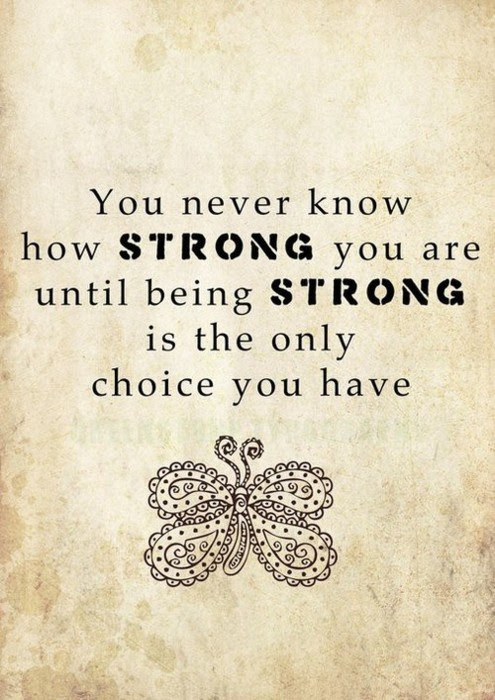 25 Inspirational Quotes About Strength Saying Images