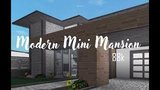 Robuxco Roblox Bloxburg Modern Mini Mansion 50k