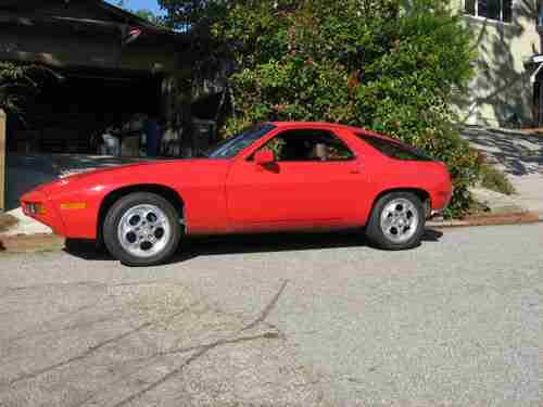 Sell Used 1979 Porsche 928 Base Coupe 2 Door 45l In Aptos