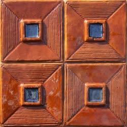 ASK 5723 Moorish enameled cuenca tiles