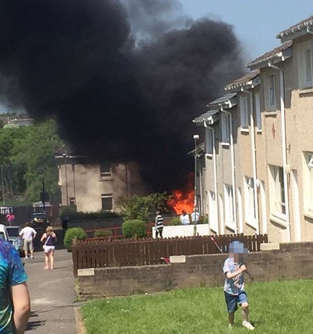 Major ongoing police incident in Cardowan area of Lanarkshire