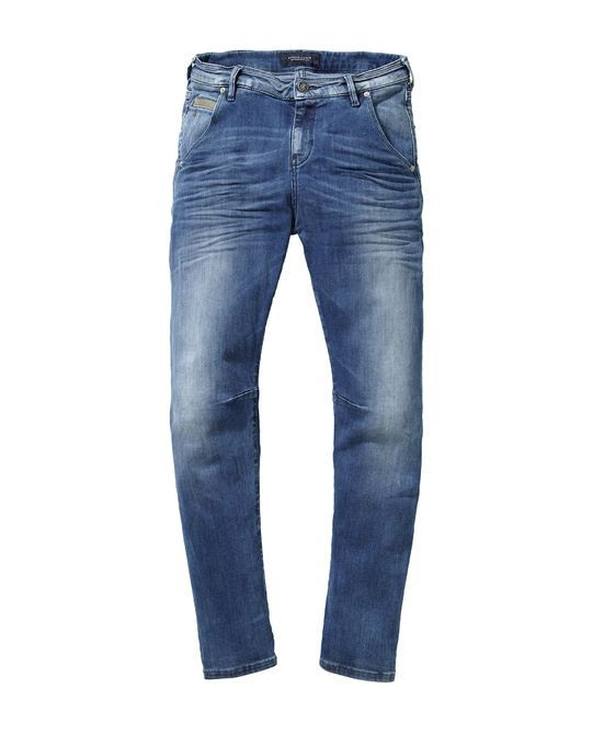 Maison Scotch Mademoiselle Jeans in Atlantis Blue Wash