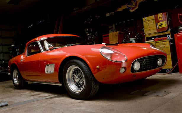 1960 Ferrari 250GT SWB California Spider on auction