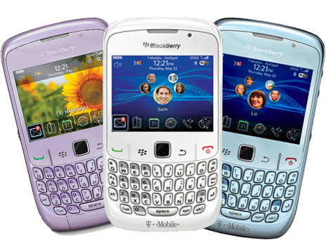 The stylish Blackberry Curve is now available in 4 colours with White being