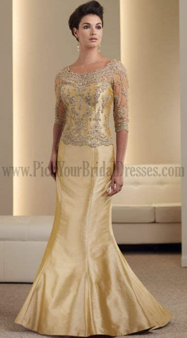 Image detail for    Scoop Yellow Gold 34 Length Sleeves