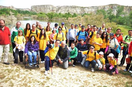 Senderismo para personas discapacitadas de la Fundación Deporte y Prosegur