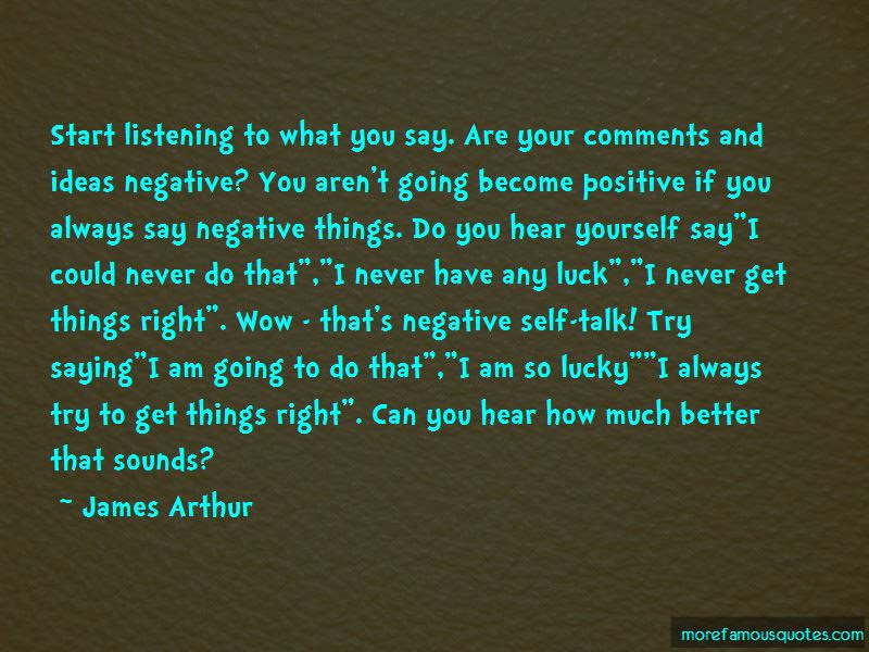 Quotes About Negative Self Talk Top 12 Negative Self Talk Quotes