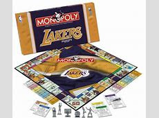 Lakers Monopoly, Los Angeles Lakers Monopoly, Laker Monopoly