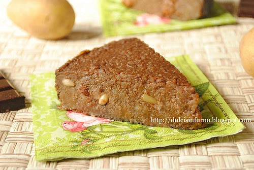 Torta di Patate e Cioccolato-Potato and Chocolate Cake