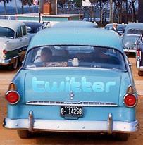 Carro do Twitter
