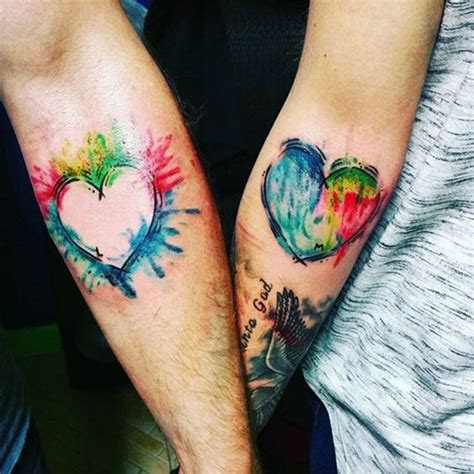 matching couple tattoos ideas cute ways show love