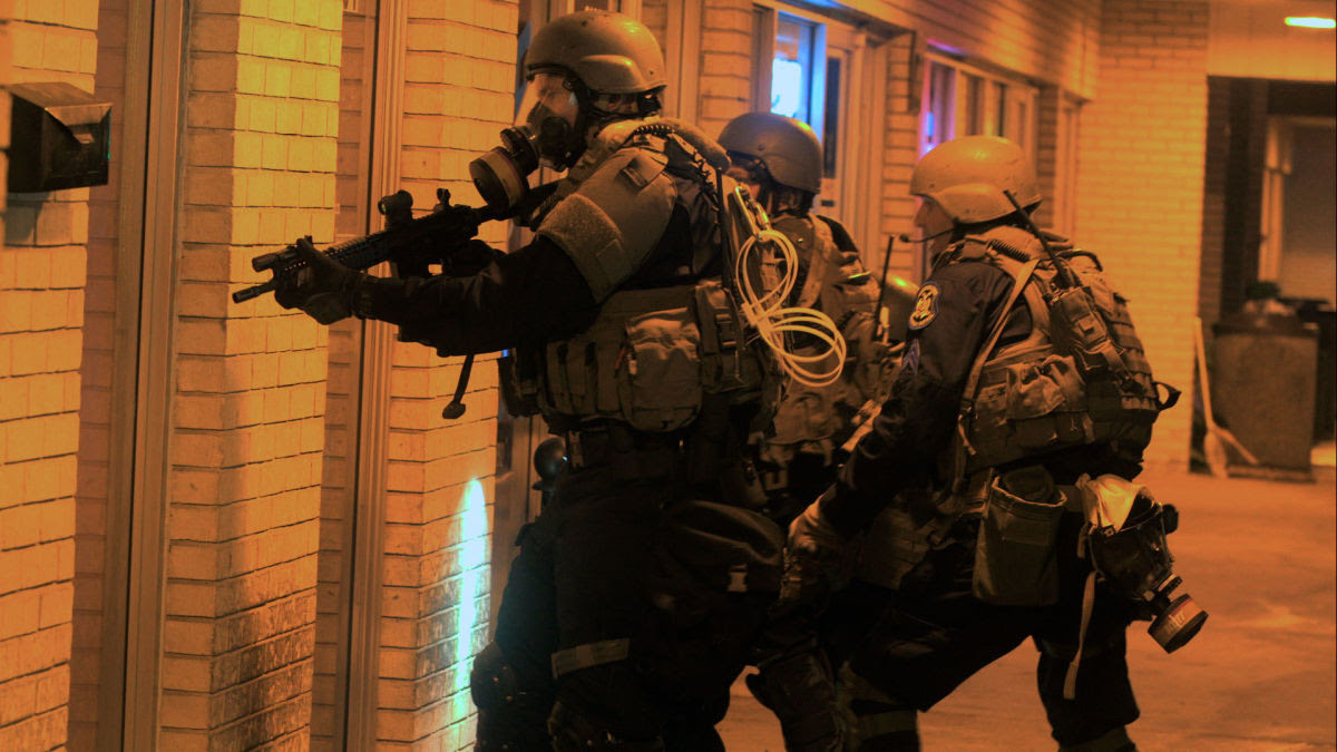 "Craig Atkinson's documentary film ""Do Not Resist"" traces the transformation of police departments across the United States into forces that often look like our Army and Marines—and all too often act like them."