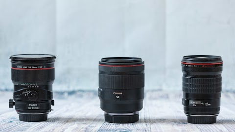 The Benefit From Using Three Primes Instead of One Zoom Lens