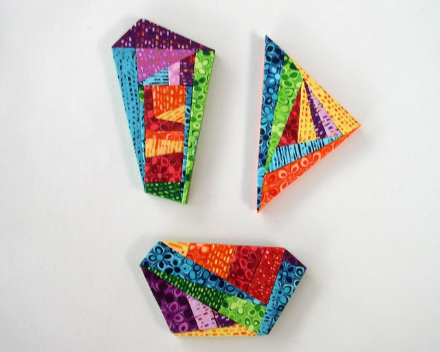 New Rainbow collection - geometric brooches 800