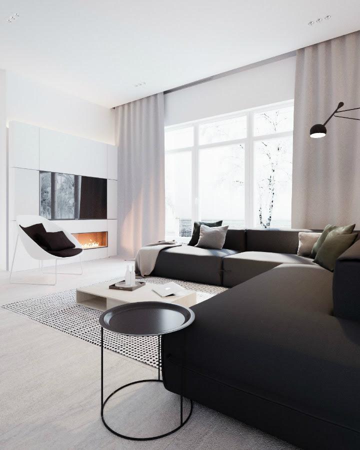 Minimalist Black And White Interior Decoholic