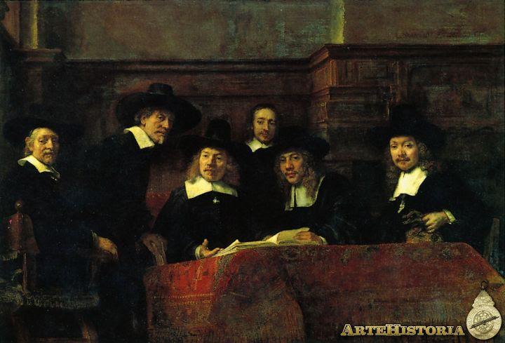 Los Staalmeesters, Los síndicos de los pañeros