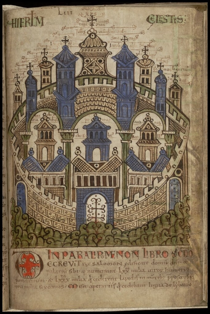 Liber Floridus - city