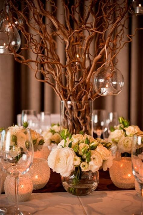 182 best Branch Wedding Centerpieces images on Pinterest