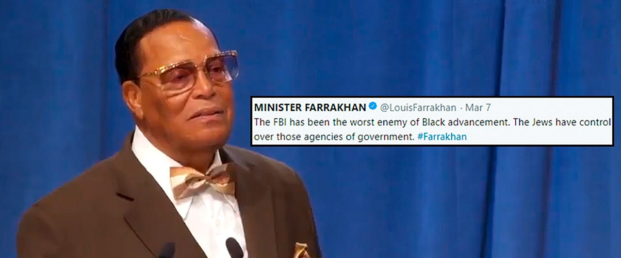 Farrakhan's latest rant against 'Jewish-controlled FBI' prompts calls for his Dem allies to resign