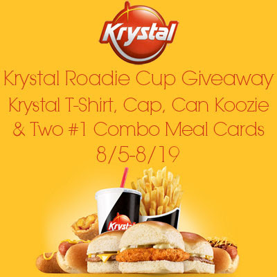 Enter the Krystal Roadie Cup Giveaway. Ends 8/19