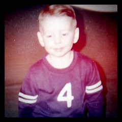 Me at four. I had heard Brett Farve was going to retire from pre-school, so I got his number. by ObieVIP