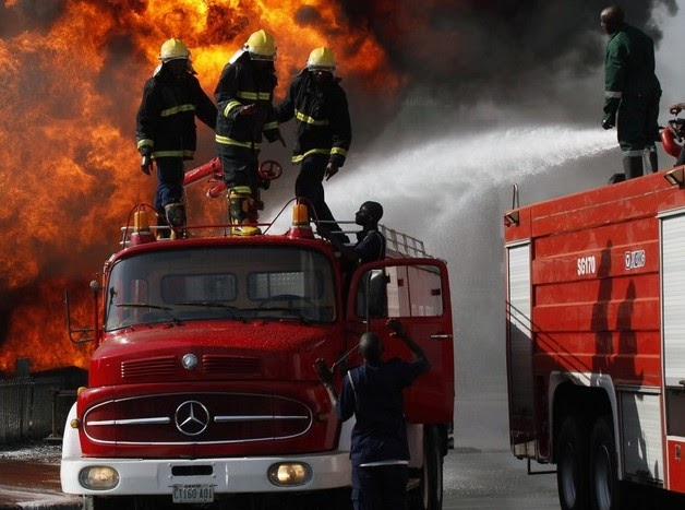 Firefighters Still Battling To Contain Balogun Market Inferno #wanitaxigo