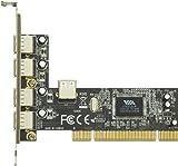 玄人志向 STANDARDシリーズ PCI接続 USB2.0 4ポート増設インターフェースボード USB2.0V-P4-PCI