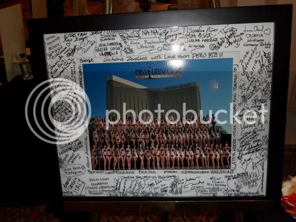 Miss Universe 2010,Auction MU
