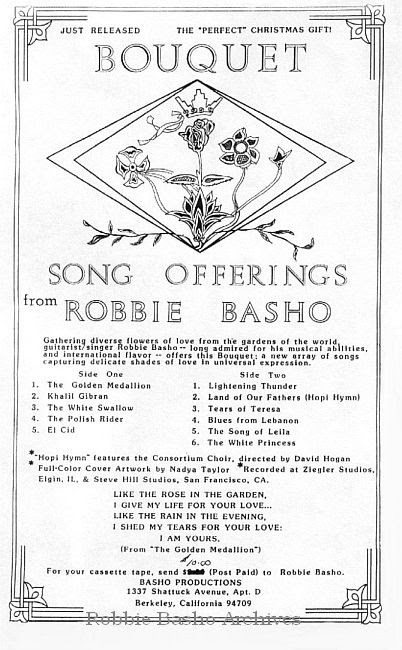 Basho's cover Bouquet