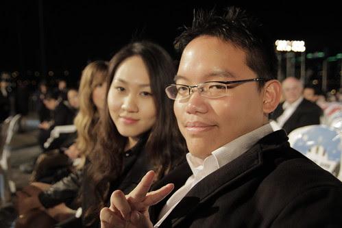 me with Eva Yang (Sonje Award winner for Best Korean Short Film, 'Broken Night')