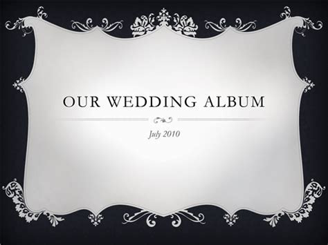 Beautiful Wedding Album Template   Microsoft PowerPoint