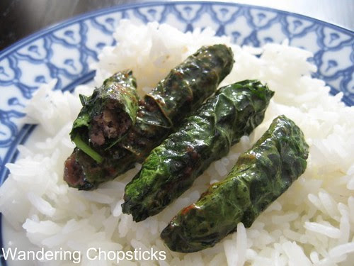 Bo Nuong La Tia To Dai Han (Vietnamese Grilled Beef with Korean Perilla Leaves) 4