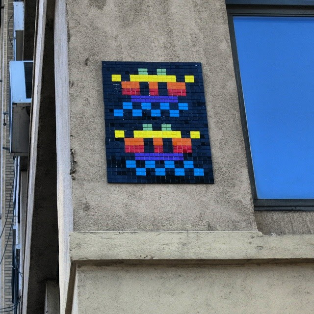 Invader Was Here Photos And Map Of All Invaders 8 Bit