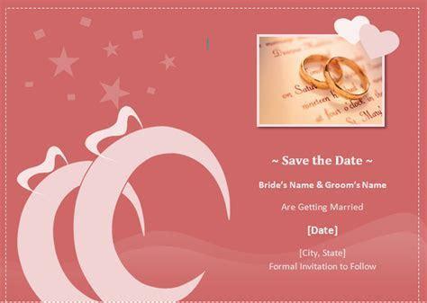 Unique wedding ideas: Save The Date Wedding Invitation Cards