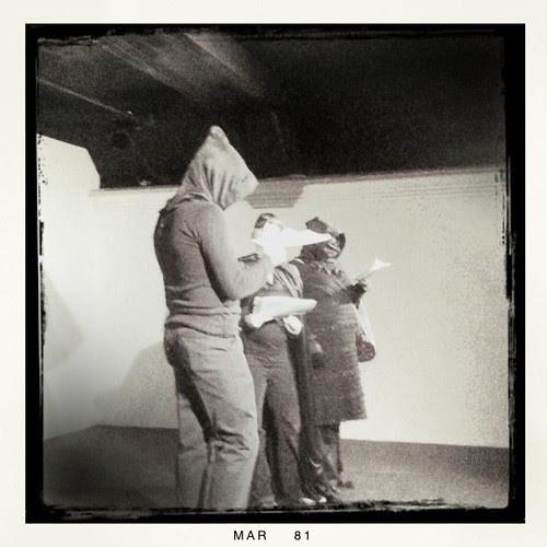 During the performance (Léonce, Zumeranaz, Oscarine)
