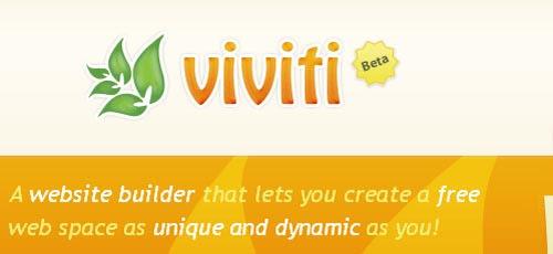 Viviti-build a website as unique and dynamic as you